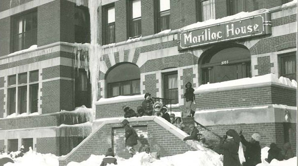 Marillac house centennial celebration and grand opening of for Maillesac housse
